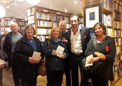 Rencontre avec Antoine Laurain pour la signature de son livre French  Rhapsody à la librairie Topping and Company à Bath le 29 septembre 2016