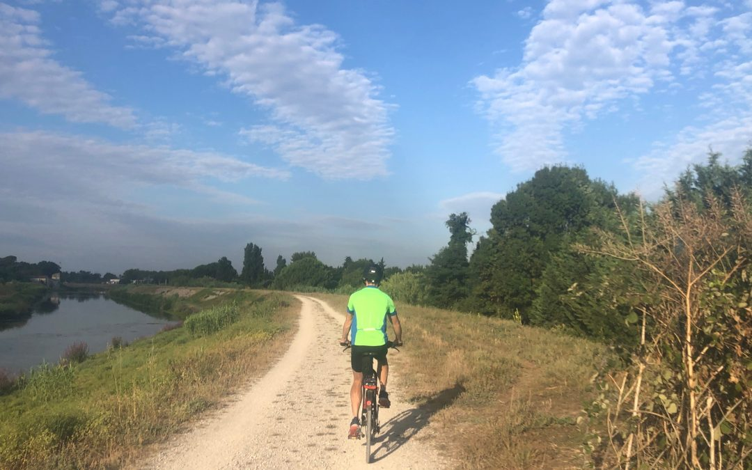 Cycling paths in the South of France
